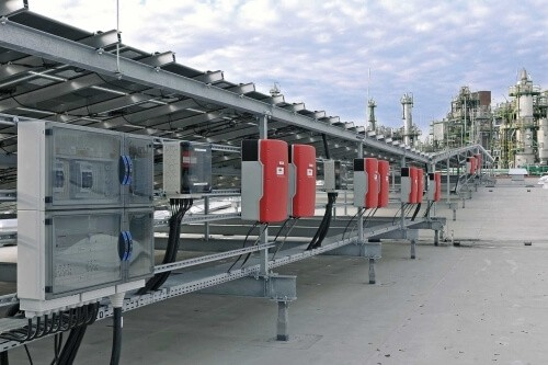 Solar Micro Grid Control Panels